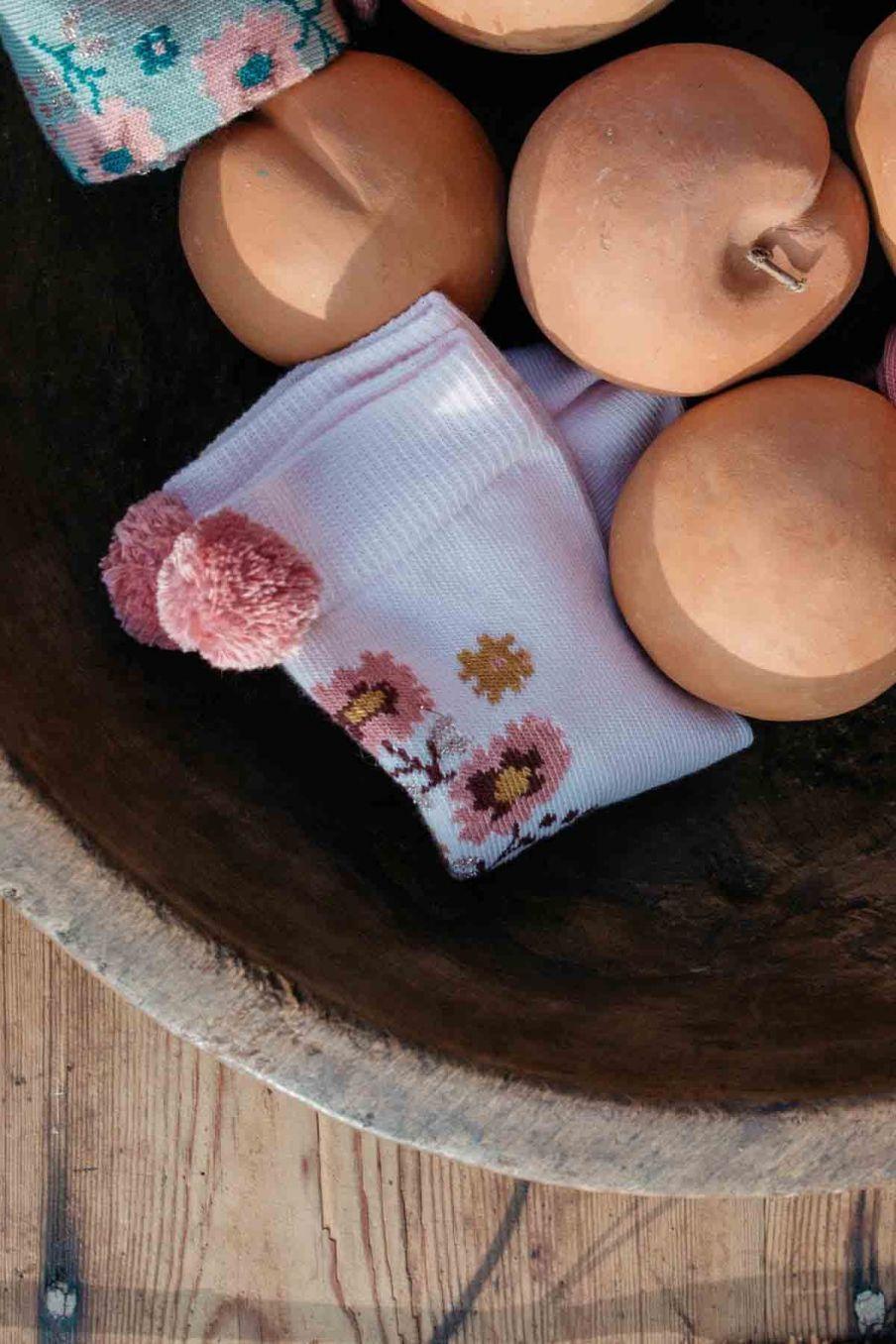 chaussettes bebe fille chelie blush - louise misha