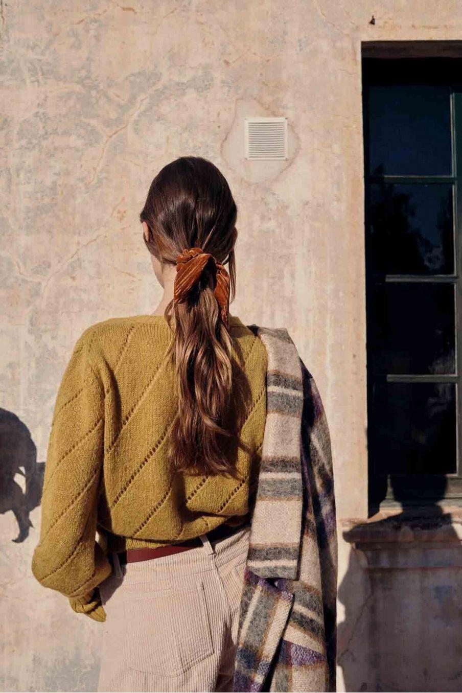 pull femme dina camel - louise misha