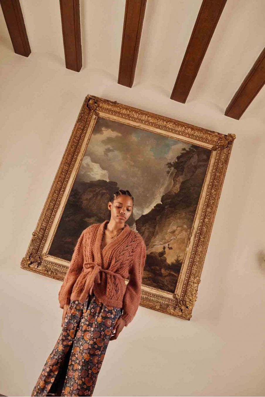 gilet femme sophia tobacco - louise misha