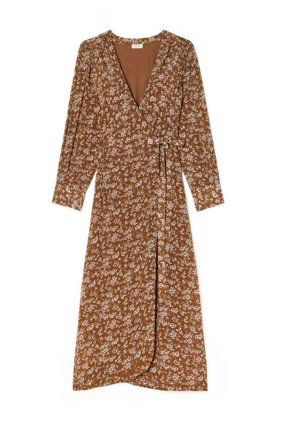 robe femme steriane cinnamon gipsy flowers - louise misha