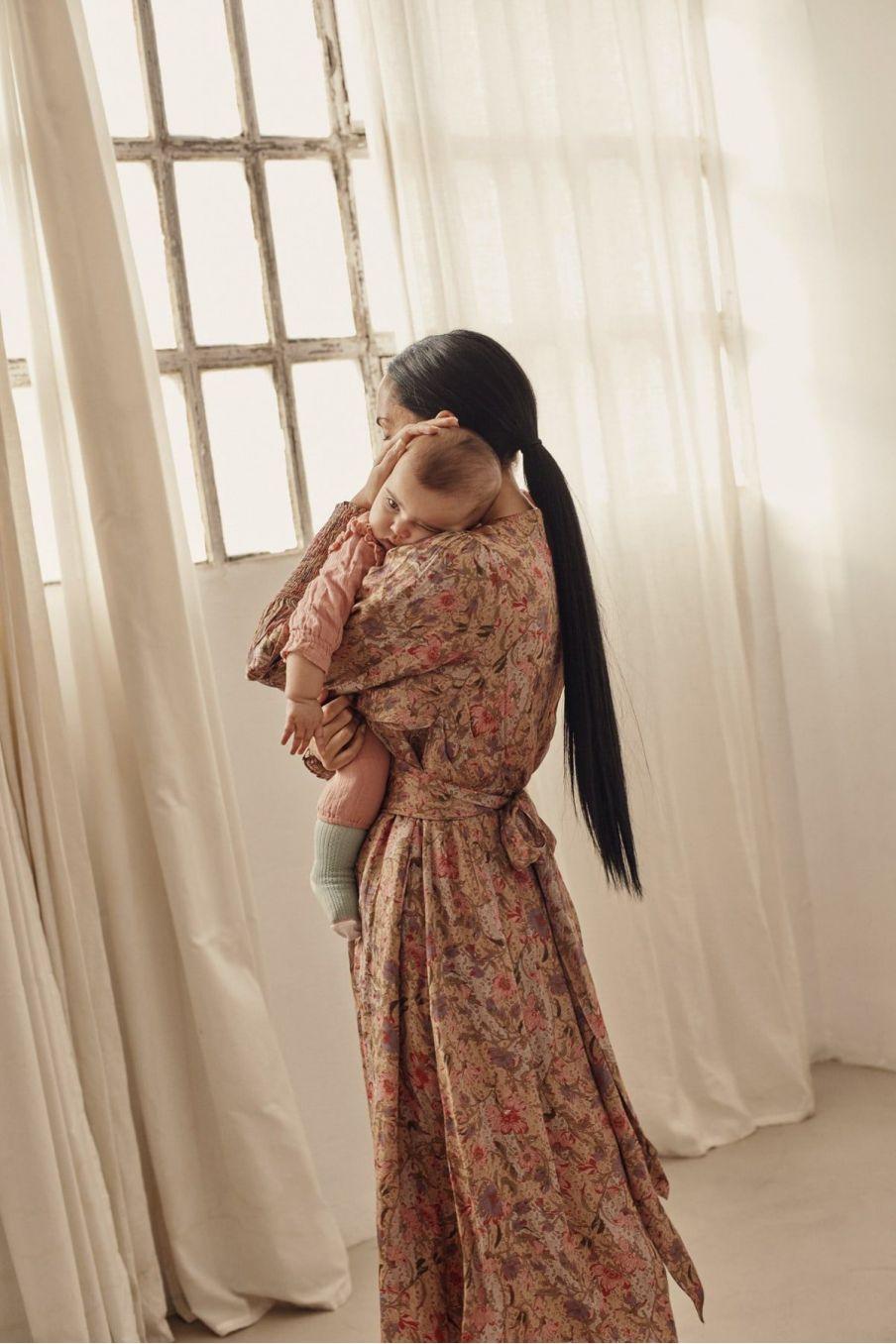 robe femme cali sand garden flowers - louise misha