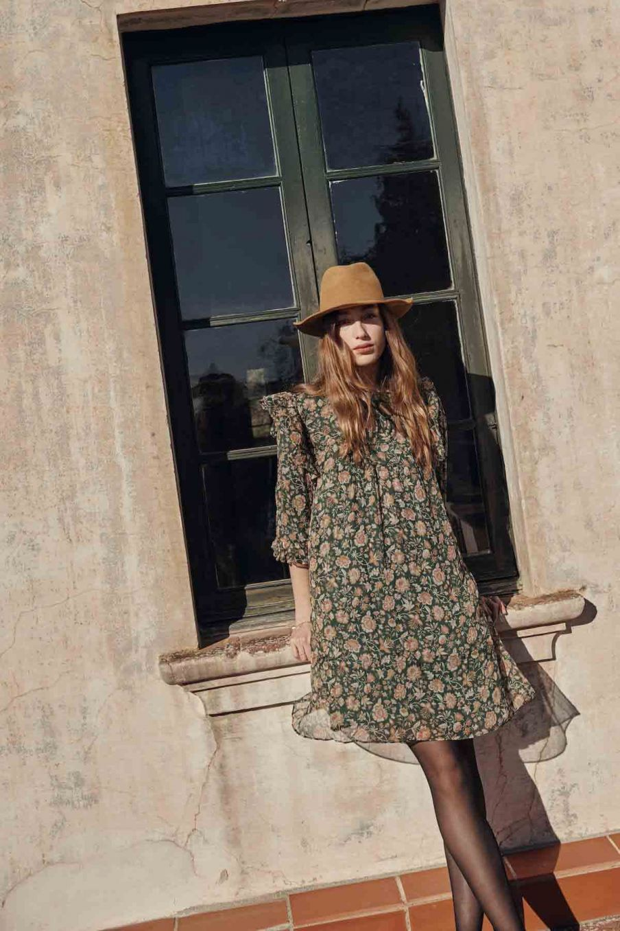 robe femme ottello forest indian flowers - louise misha