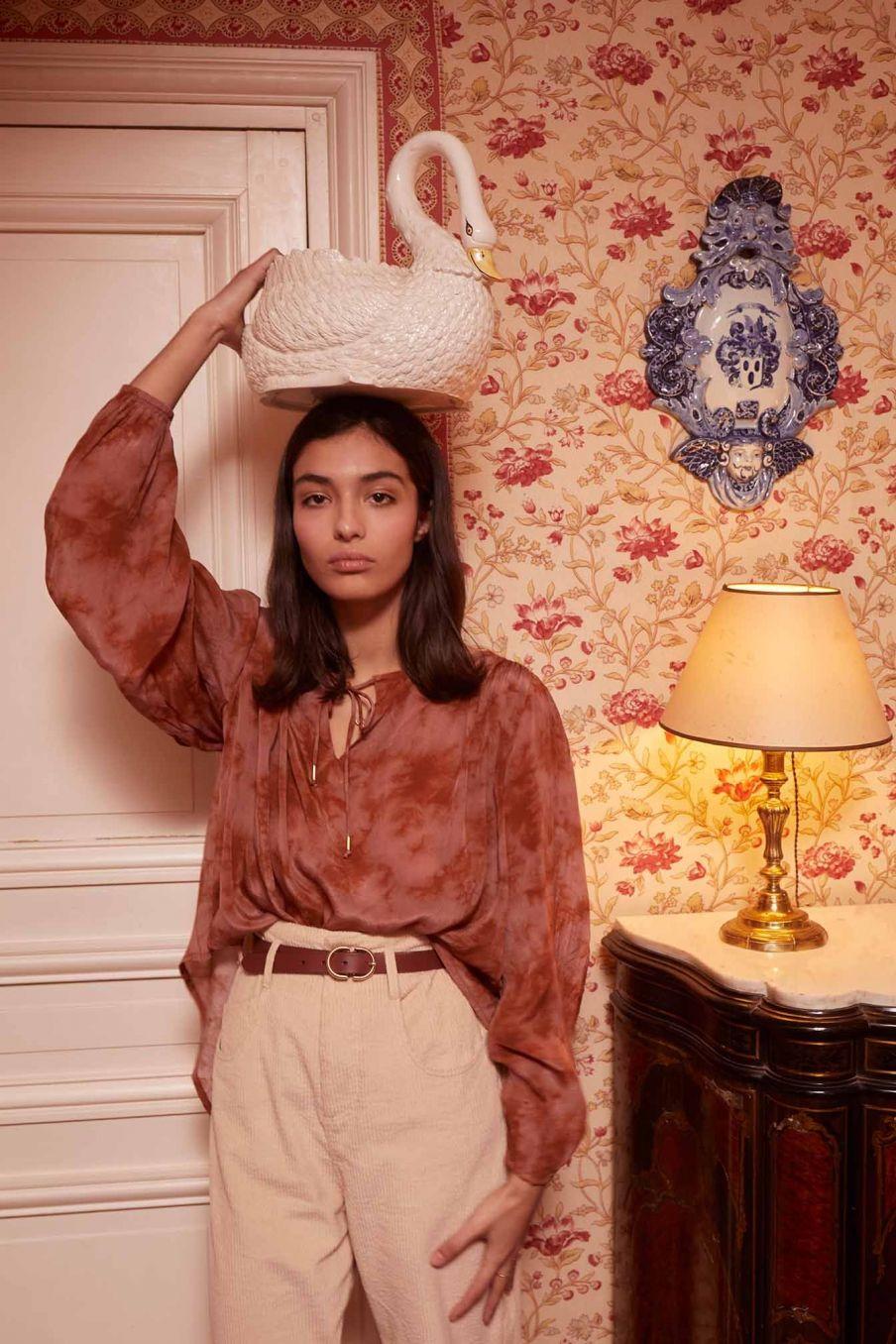 blouse femme marina sienna tie and dye - louise misha