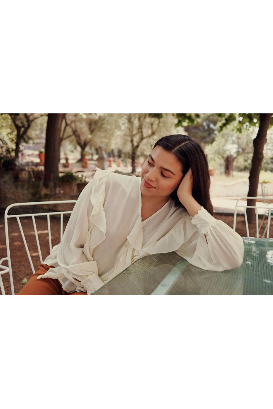 blouse femme aliana cream - louise misha