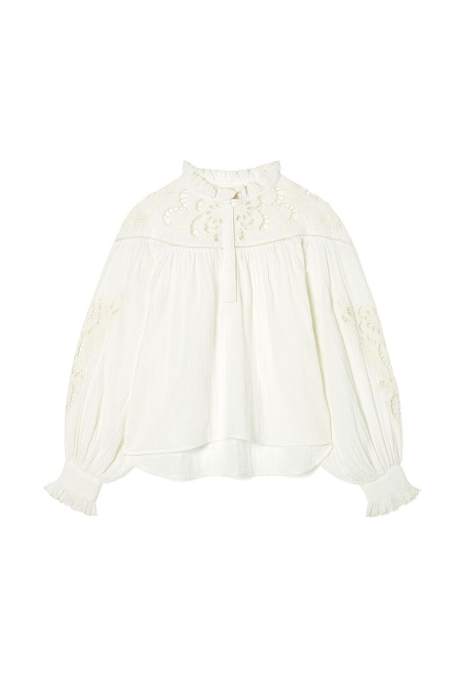 blouse femme camille off-white - louise misha