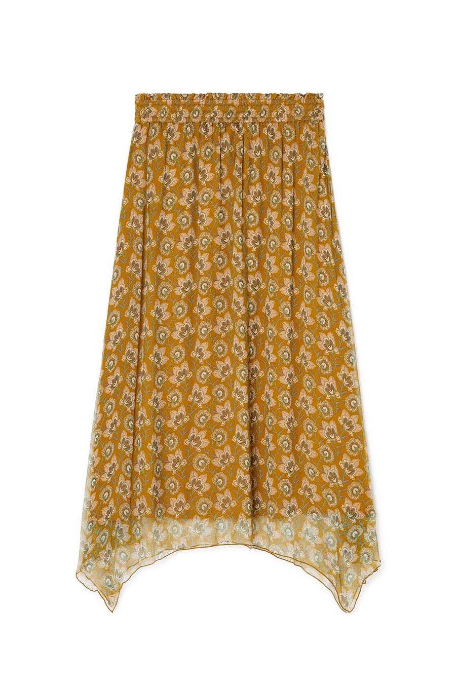 jupe femme yunghi saffron flowers - louise misha