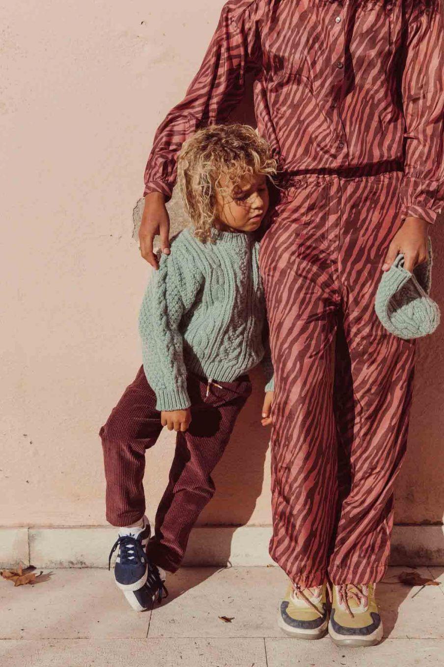 pantalon femme arloew sienna brush stripes - louise misha