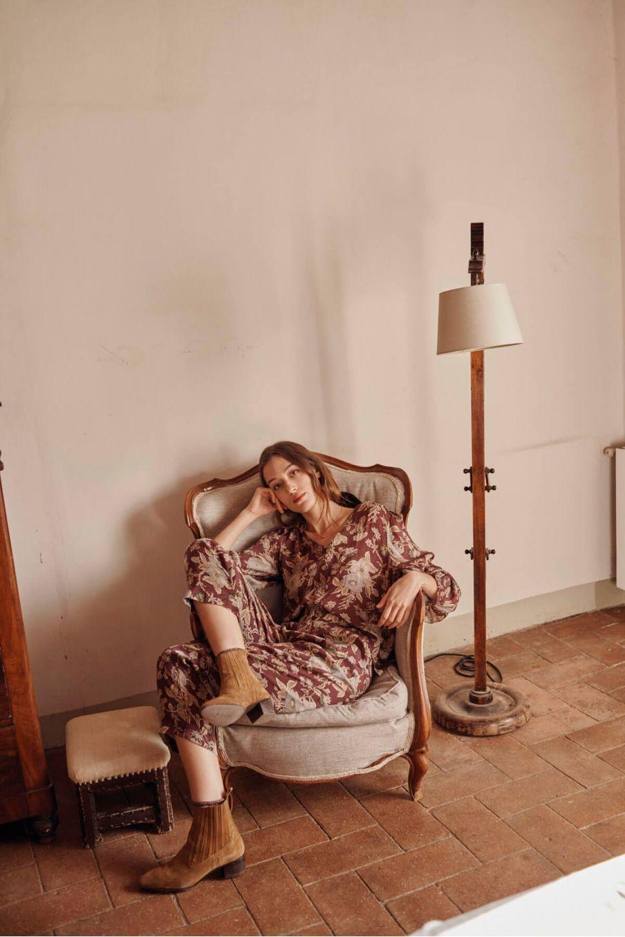 pantalon femme arloew parma passiflora - louise misha