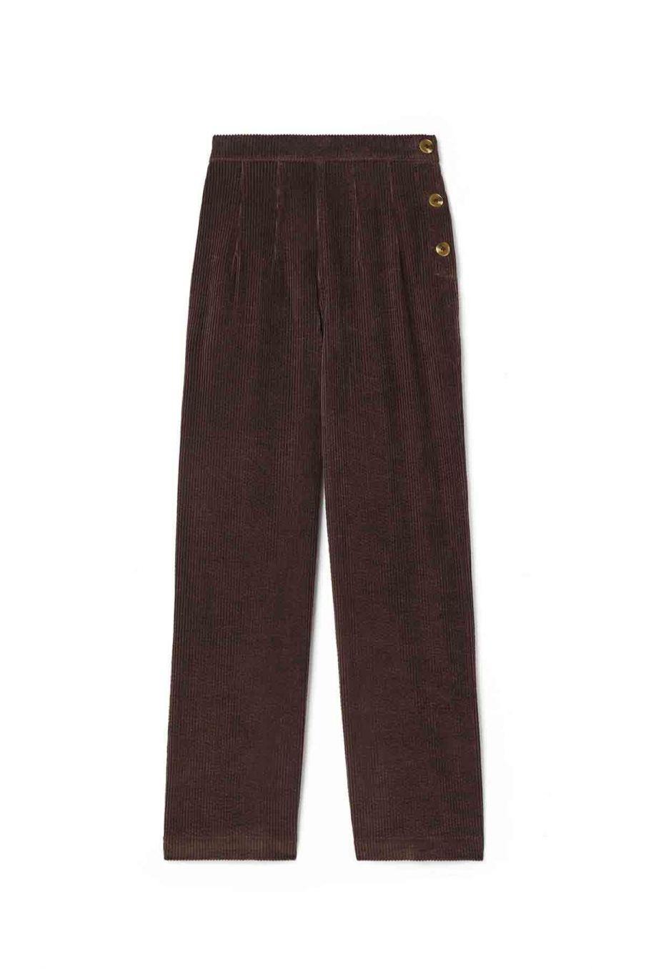 pantalon femme beatriz grape - louise misha