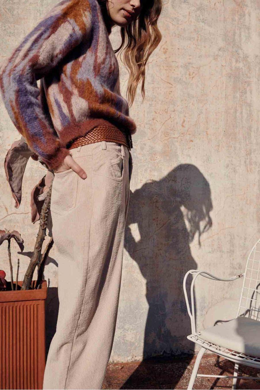 jeans femme lou biscuit - louise misha