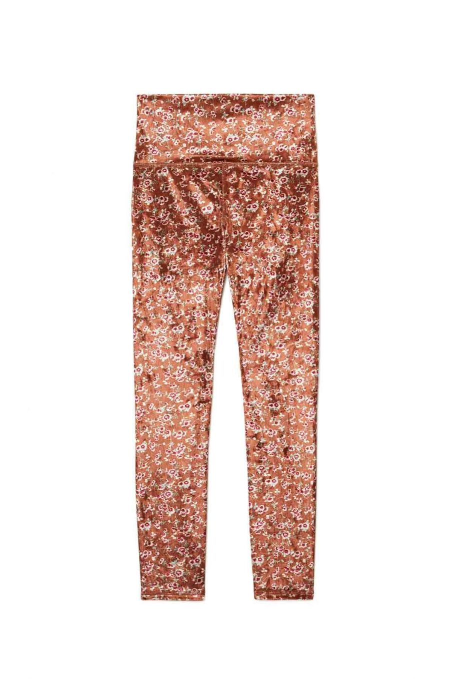 leggings femme navasana cinnamon gipsy flowers - louise misha
