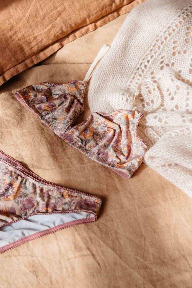 soutien-gorge femme shosha sand bohemian flowers - louise misha