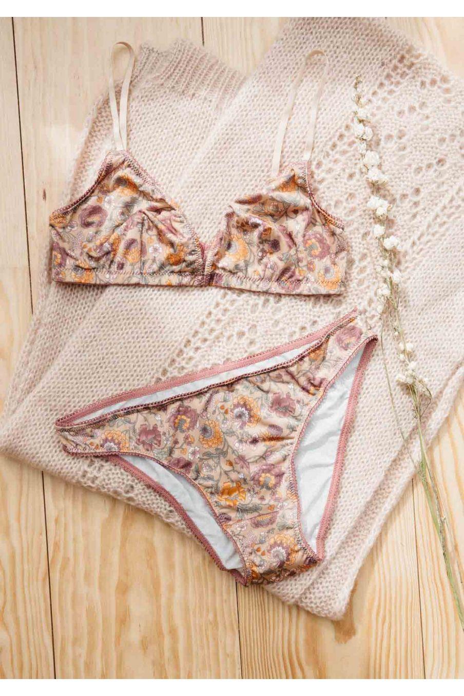 culotte femme katia sand bohemian flowers - louise misha