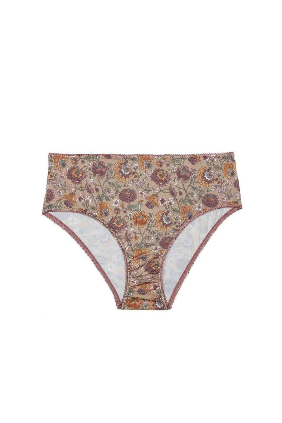 culotte taille haute femme rina sand bohemian flowers - louise misha
