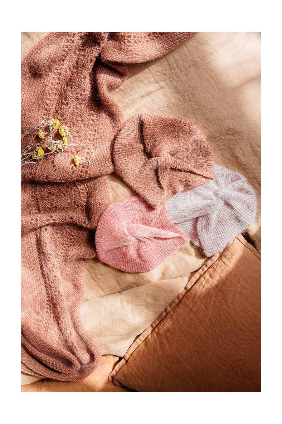 bonnet femme abina biscuit - louise misha
