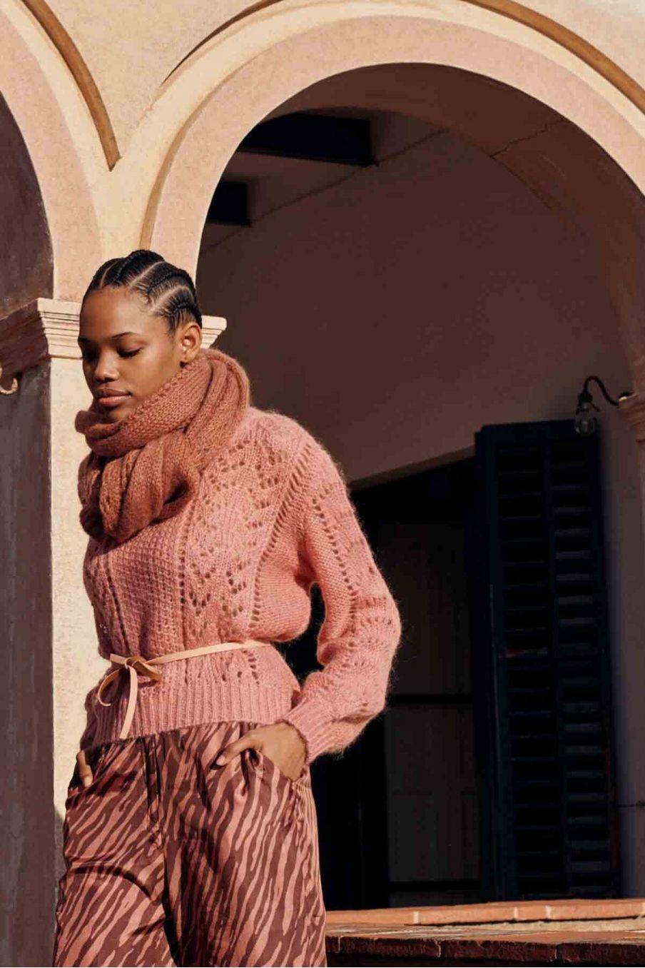 ceinture femme yseult camel & sienna - louise misha