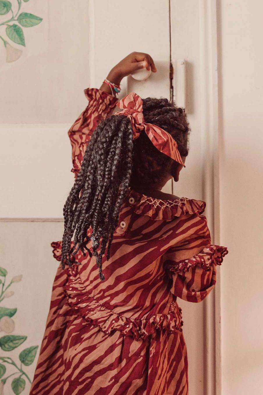 chouchou femme chloe sienna brush stripes - louise misha
