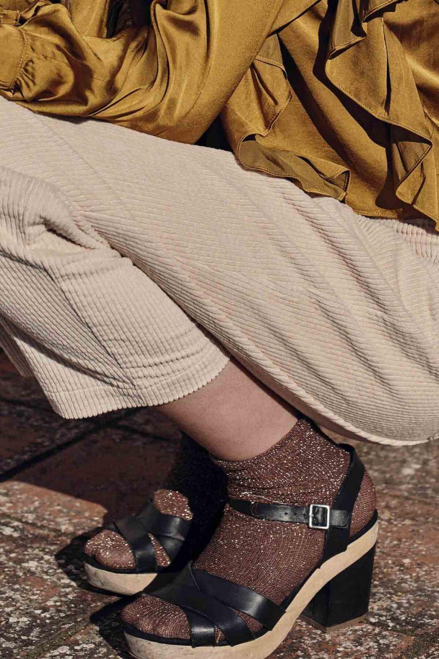 chaussettes femme louisiane sienna - louise misha