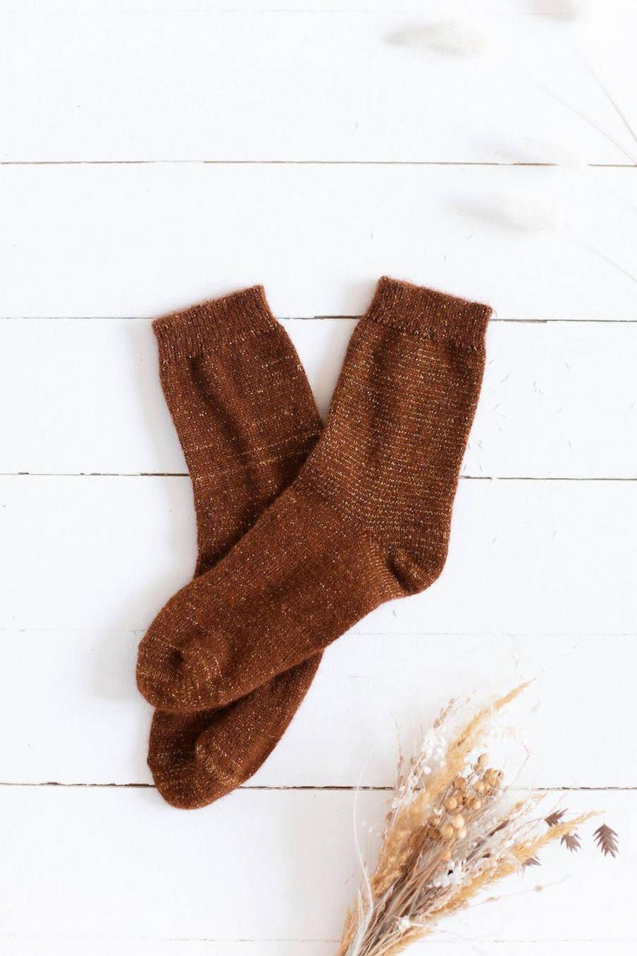 chaussettes femme piria velvet nuts - louise misha