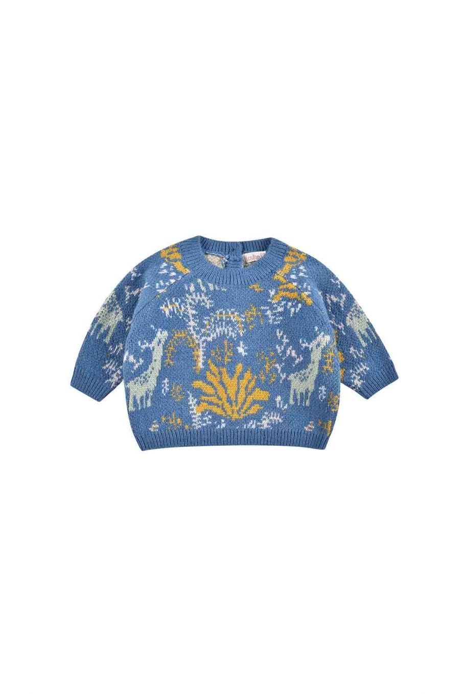 pull bebe garcon nico blue forest - louise misha