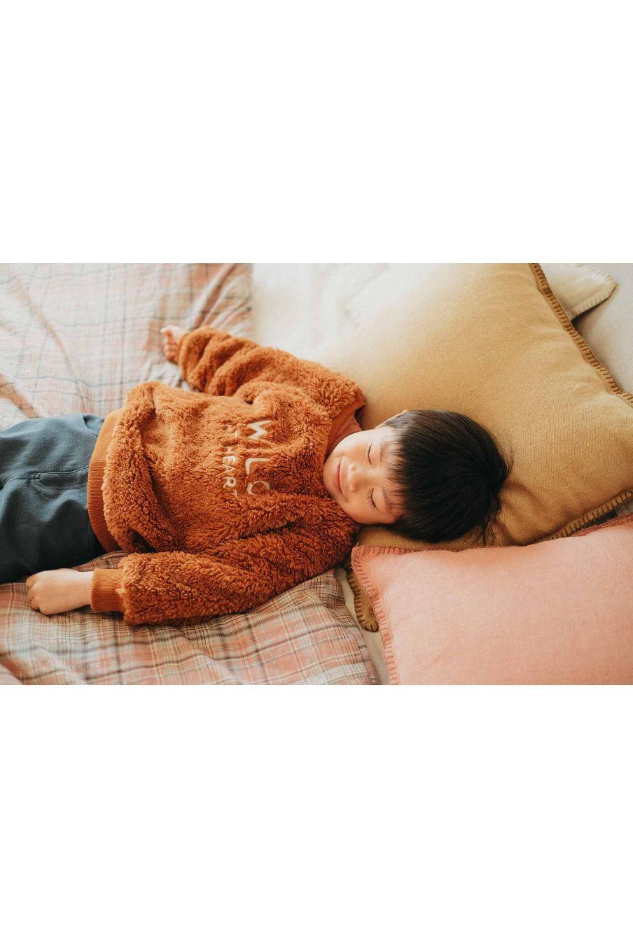 sweatshirt bebe garcon leon nuts - louise misha