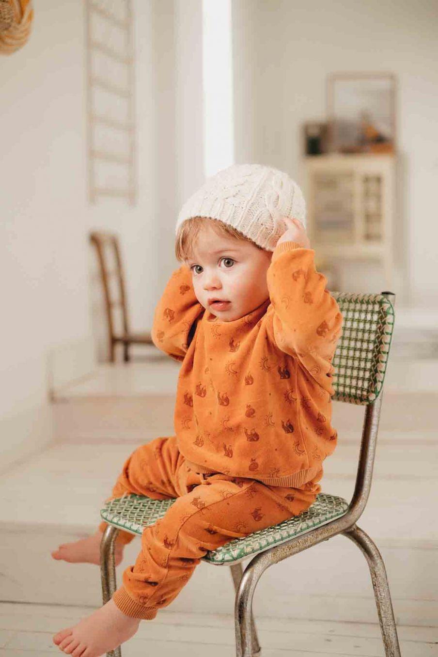 survêtement bebe garcon milan nuts fox - louise misha