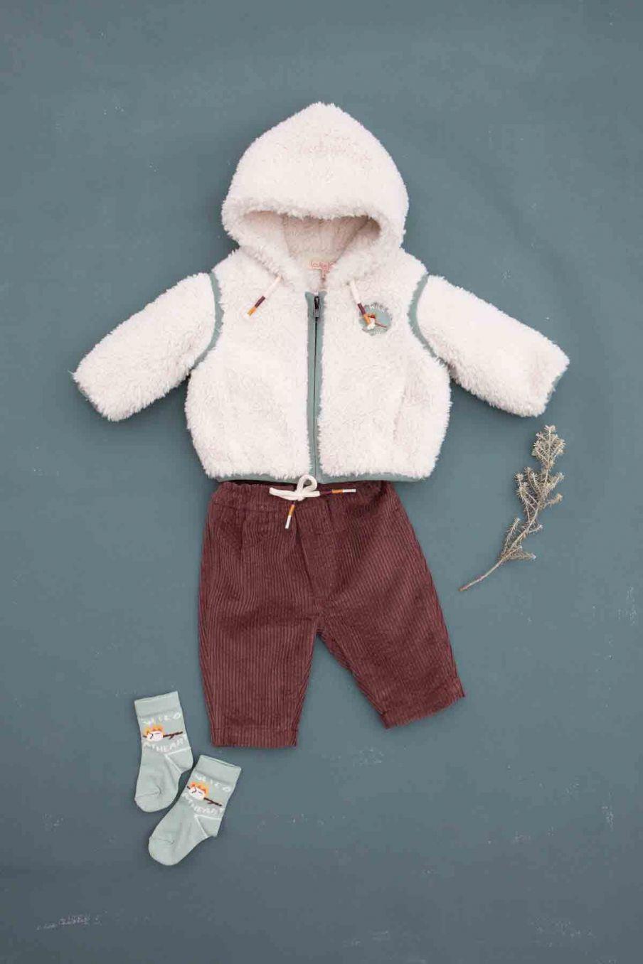 veste bebe garcon mathis cream - louise misha