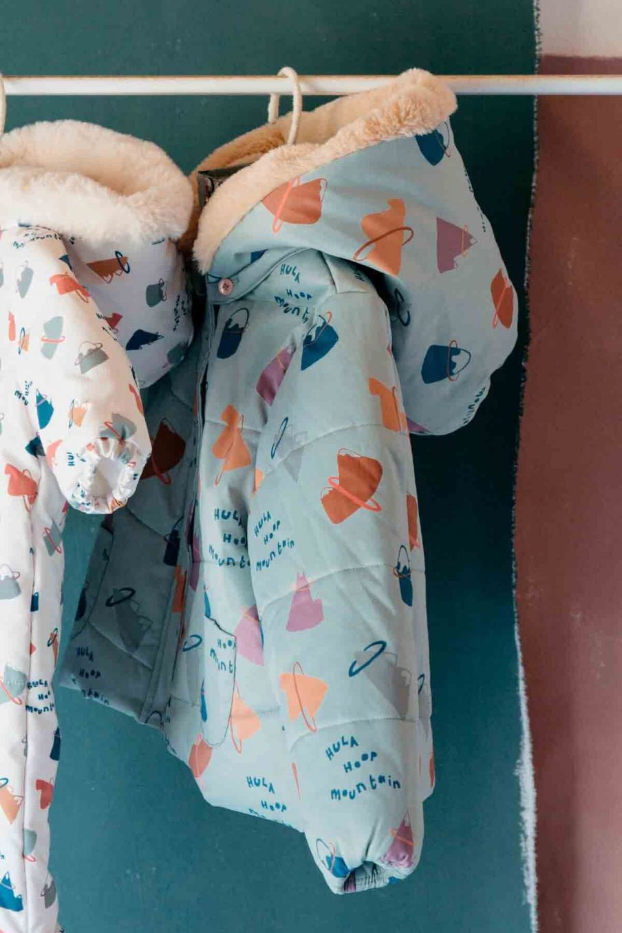doudoune bebe garcon germain sauge mountains - louise misha