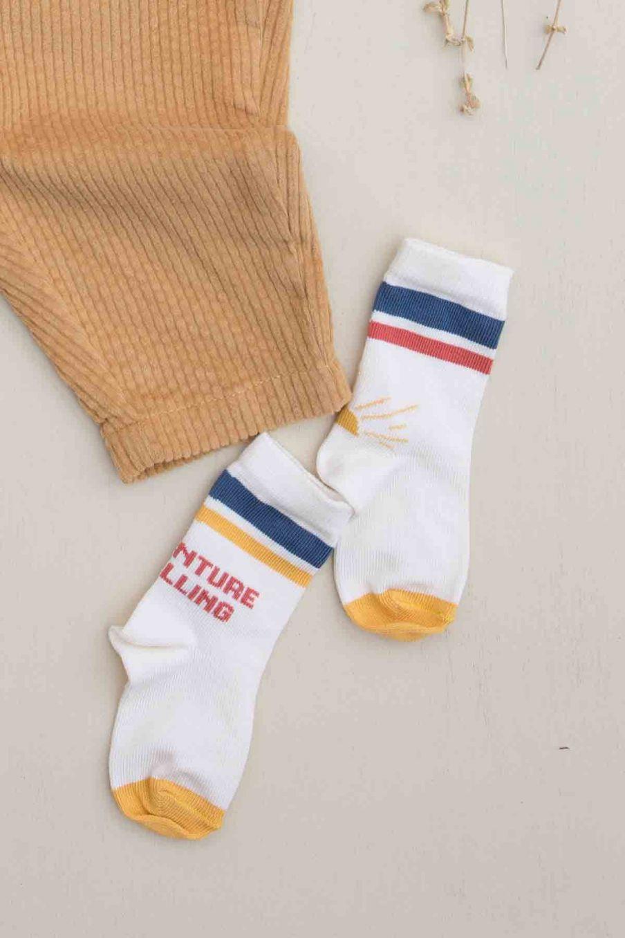 chaussettes bebe garcon cristo cream - louise misha