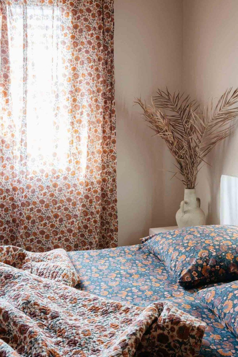 rideau maison colette cream bohemian flowers - louise misha