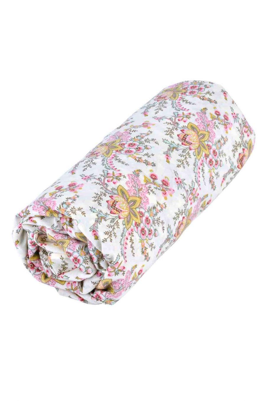 drap-housse maison nicole cream french flowers - louise misha
