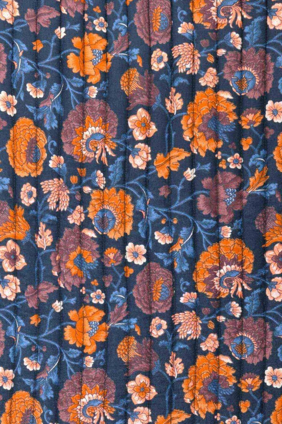 plaid maison antoinette charcoal bohemian flowers - louise misha