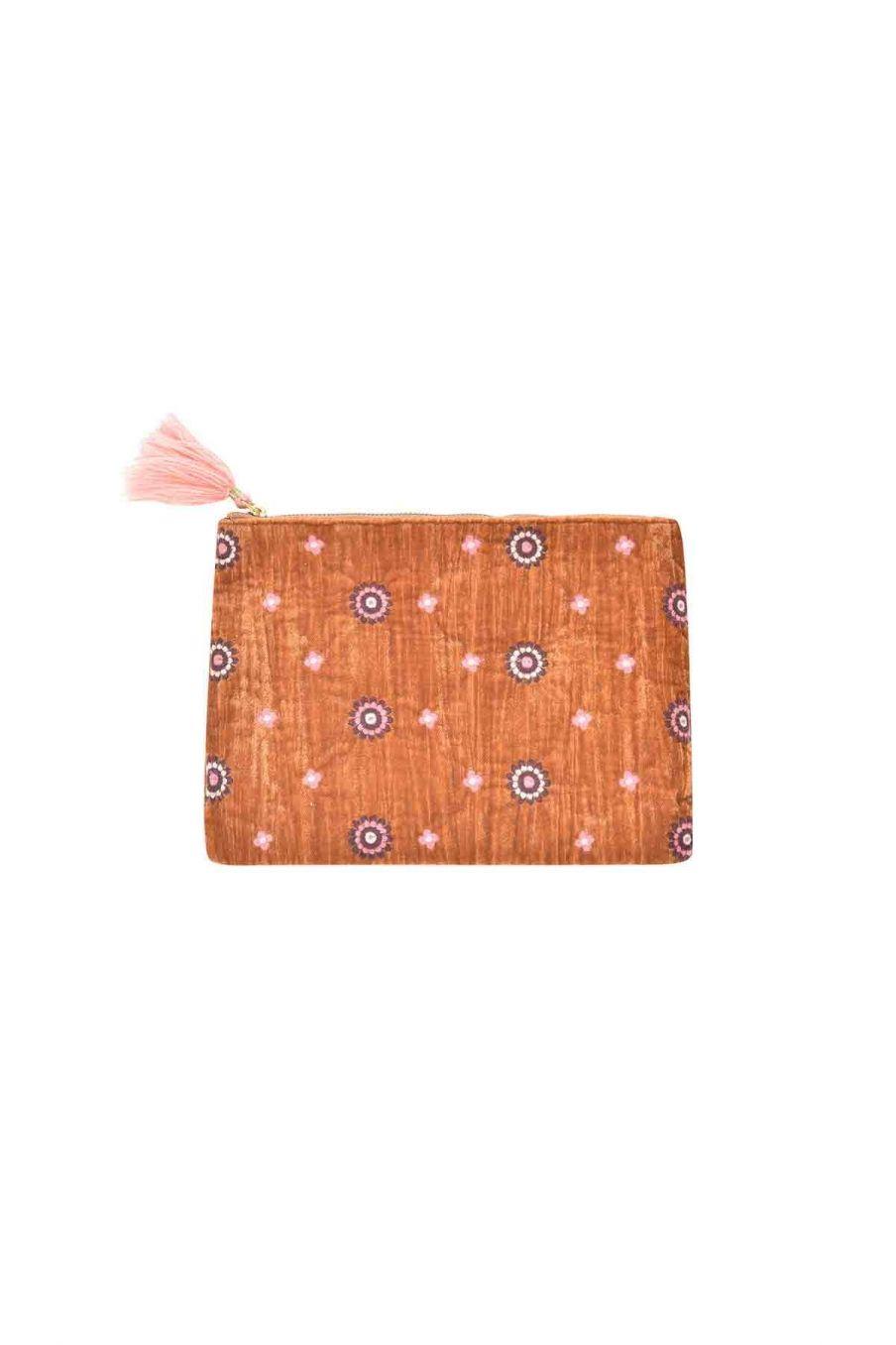 pochette d'ordinateur  maison hoa caramel - louise misha