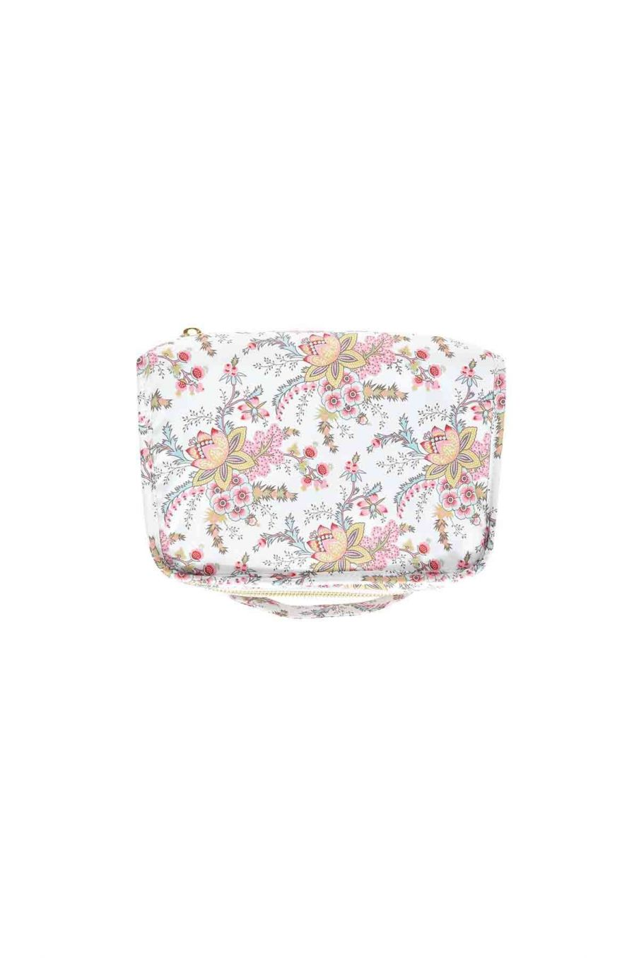 trousse de toilette maison joriska cream french flowers - louise misha