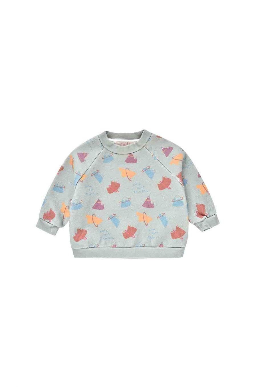 sweatshirt bebe garcon samuel sauge mountains - louise misha