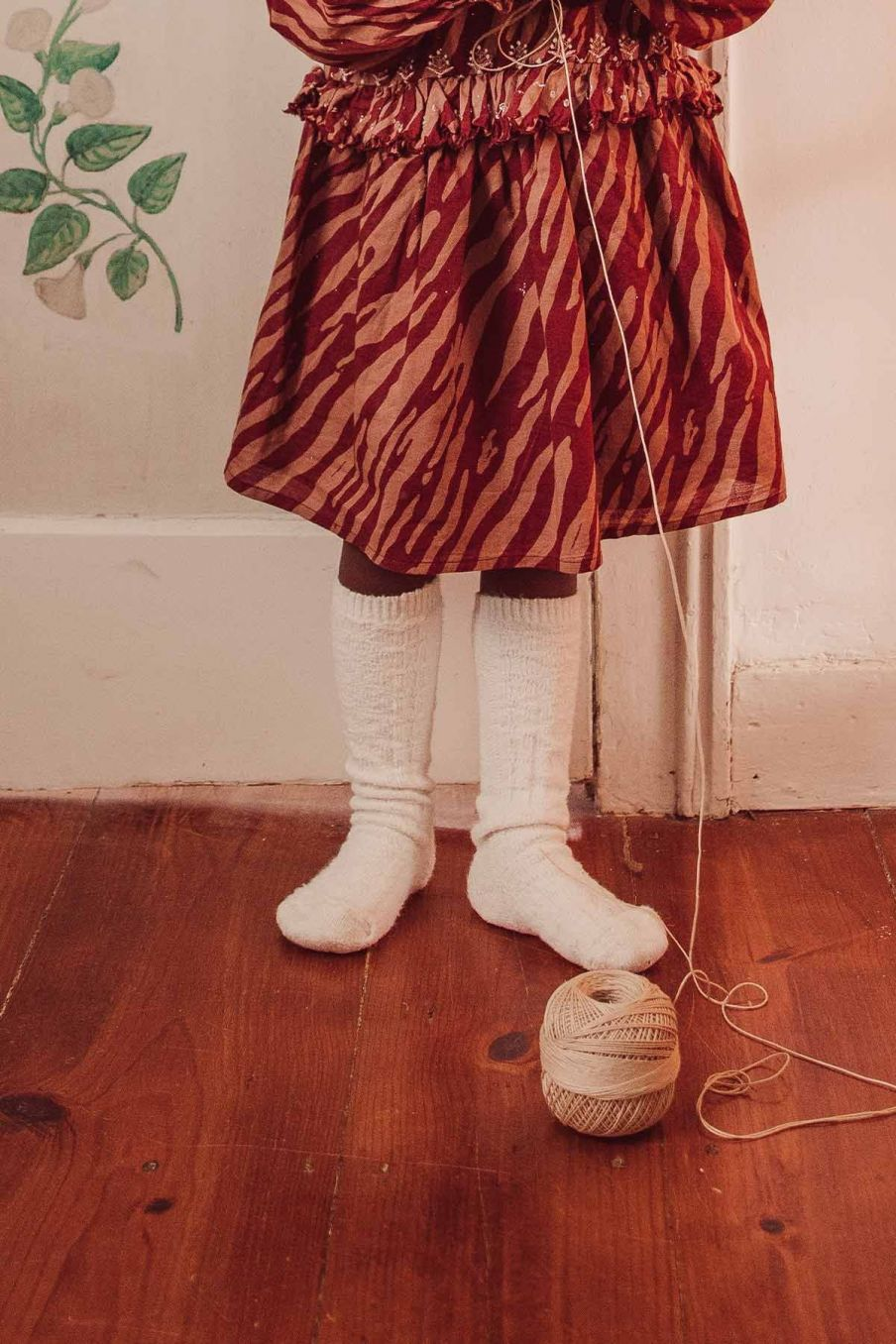 chaussettes bebe fille chouki cream - louise misha