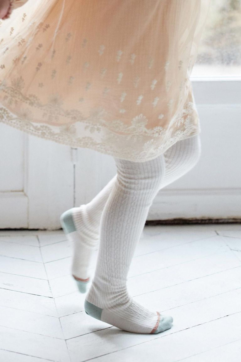 collants fille chukata cream - louise misha
