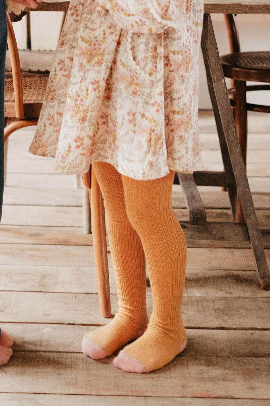 collants fille chukata mustard - louise misha