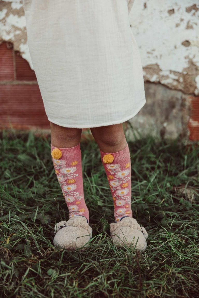 chaussettes fille chelie pink - louise misha