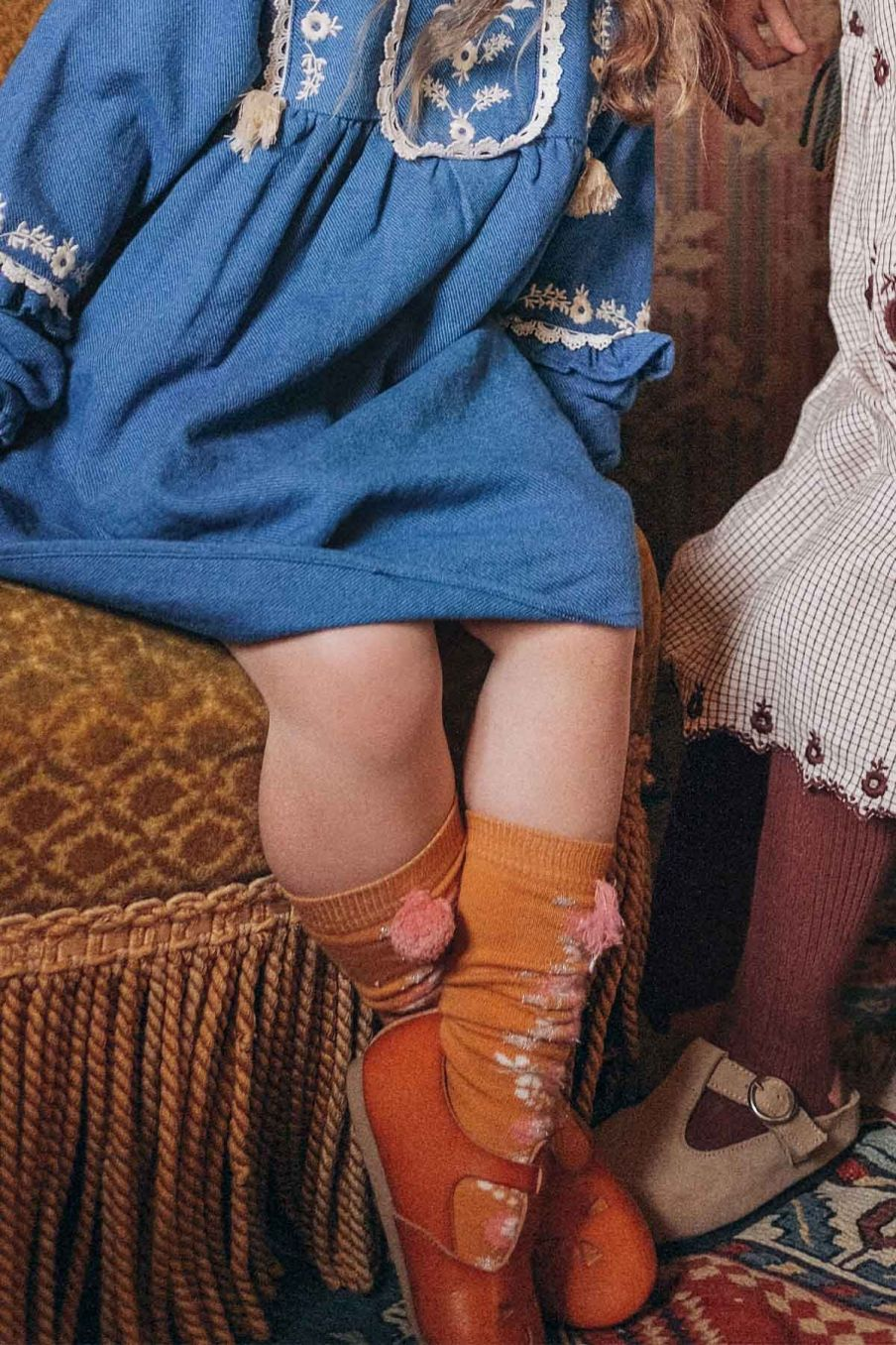 chaussettes fille chelie mustard - louise misha