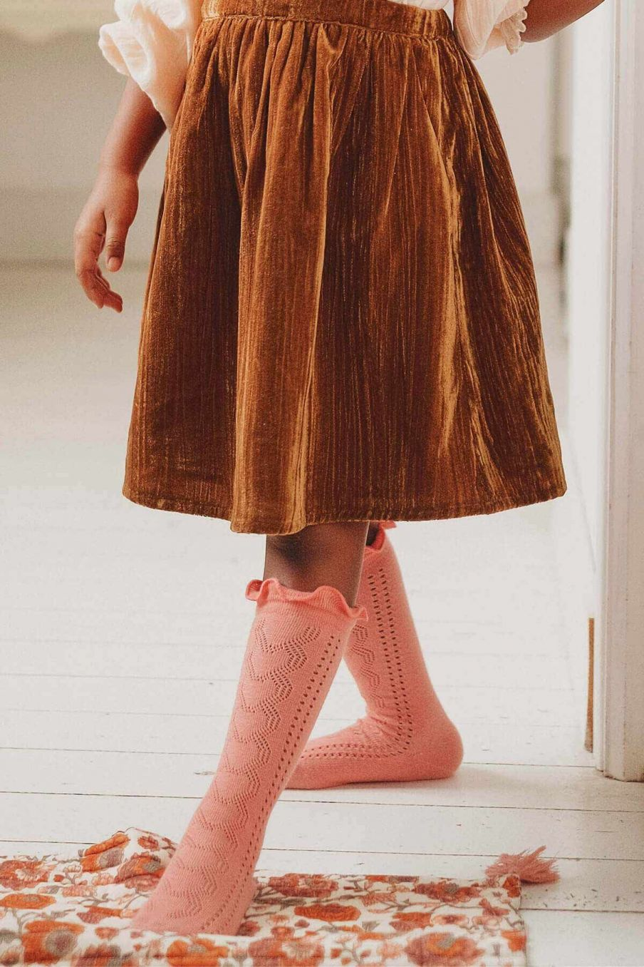 chaussettes fille chilou sienna - louise misha
