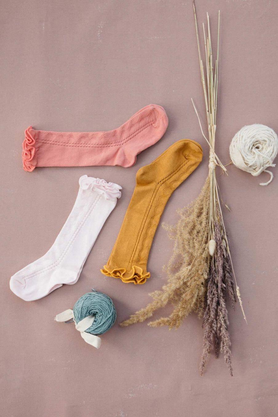 chaussettes fille chilou blush - louise misha