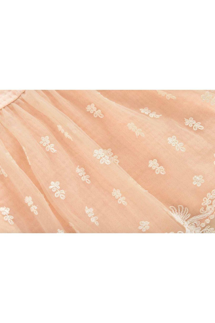 robe fille christa blush - louise misha