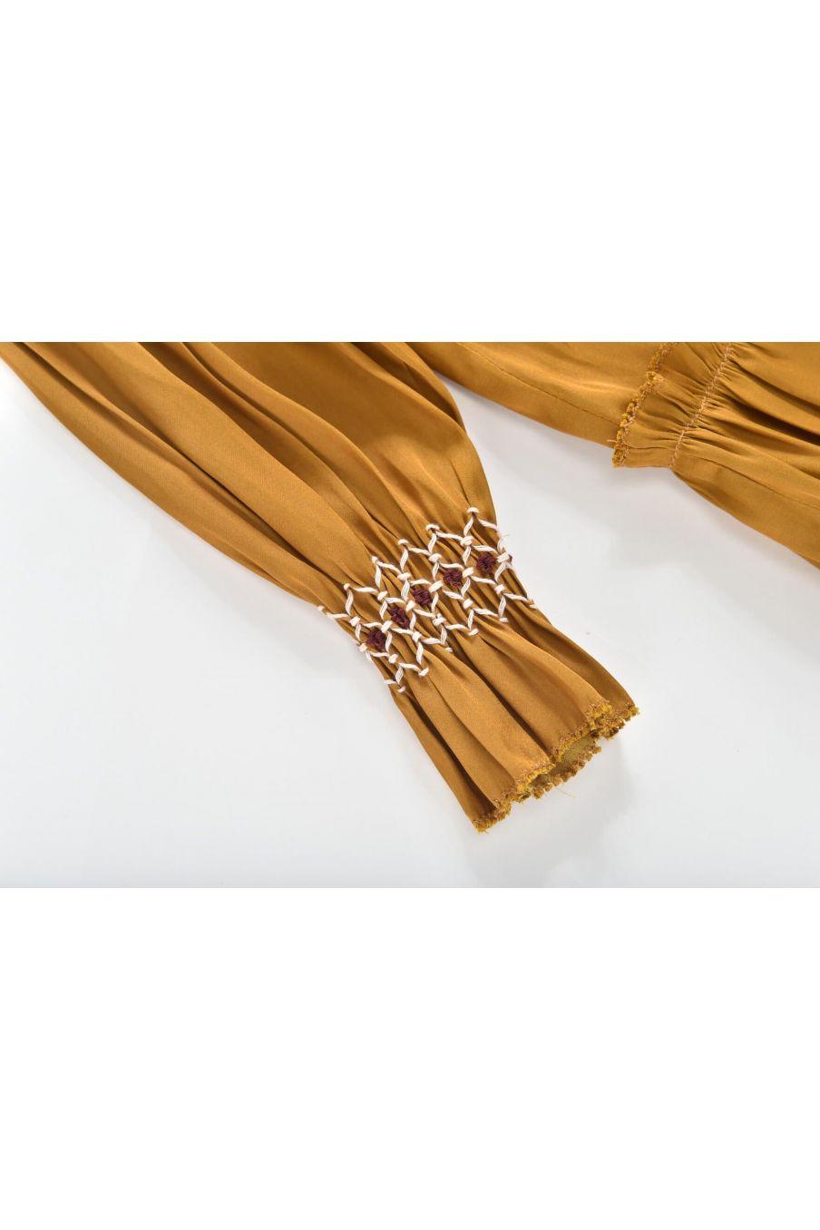 robe fille sonia bronze - louise misha