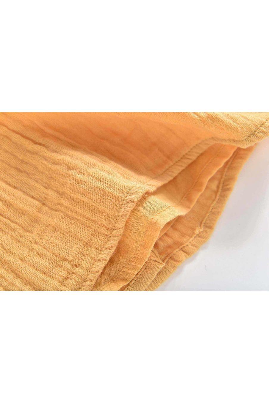 blouse fille daphne saffron - louise misha
