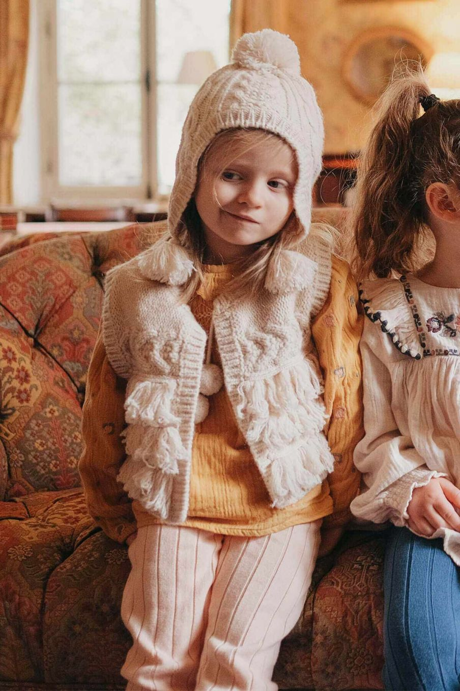 leggings fille moldavia blush - louise misha