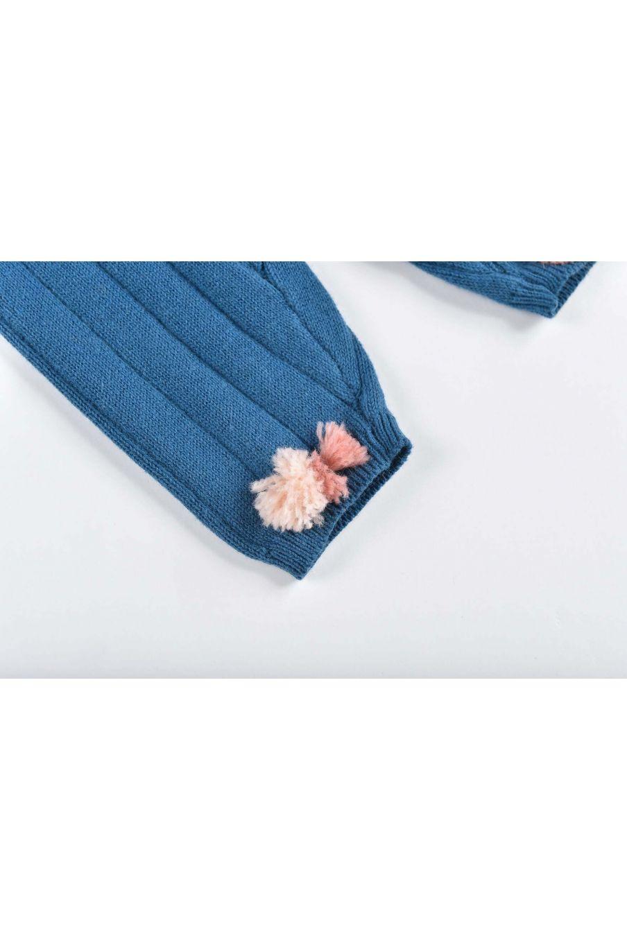 leggings fille moldavia blue - louise misha