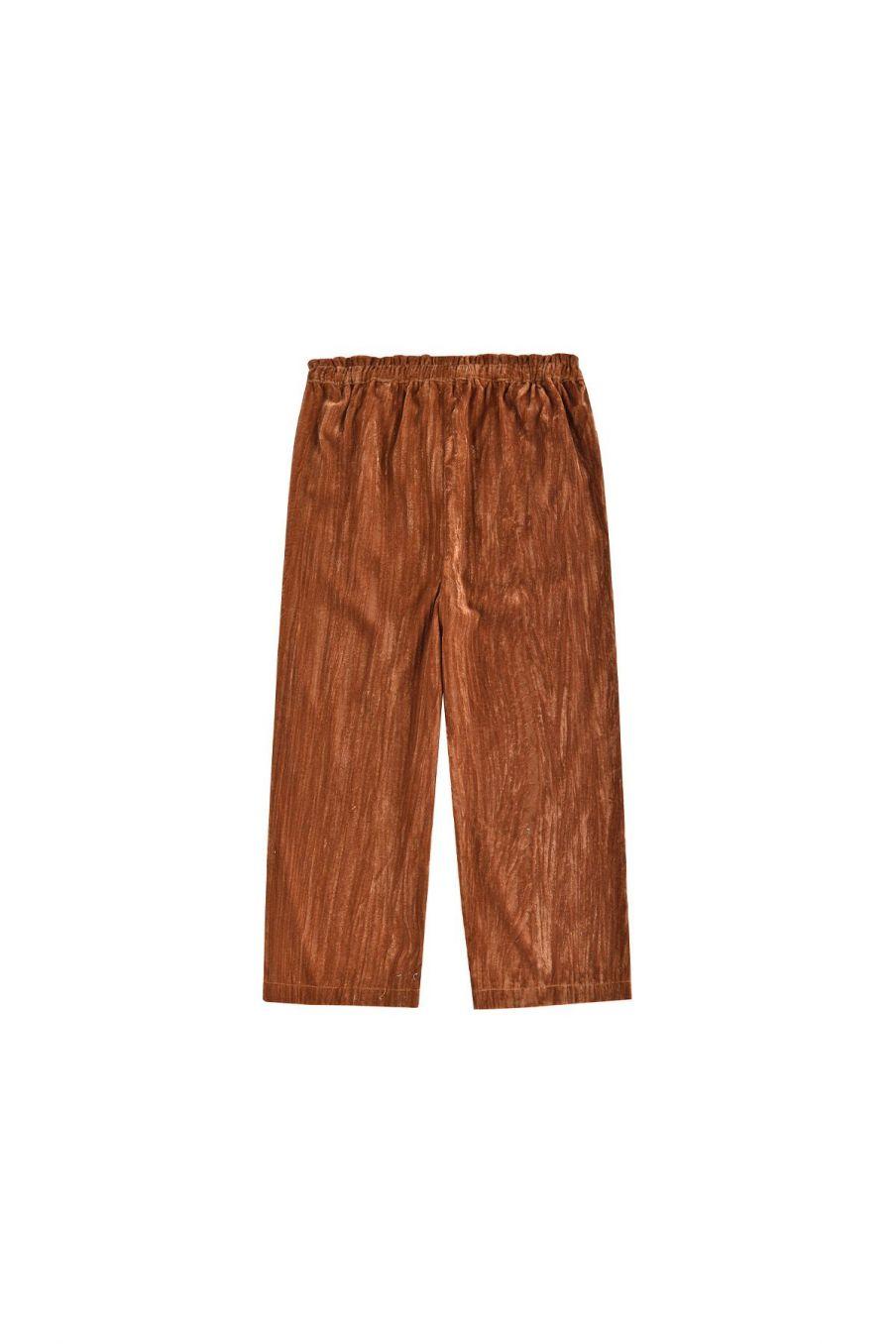 pantalon fille noellice caramel - louise misha