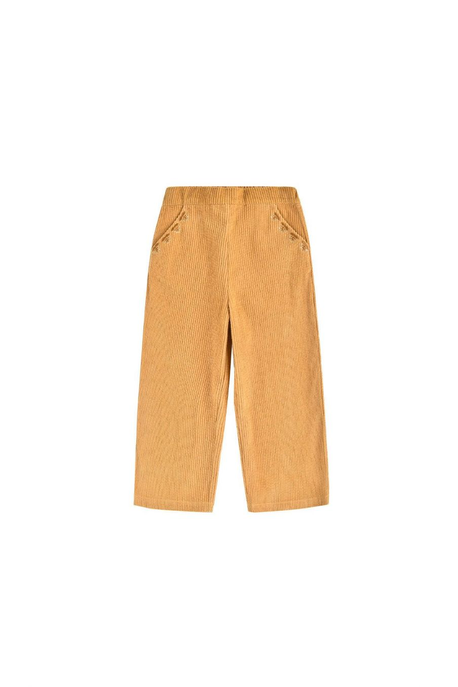 pantalon fille flor camel - louise misha