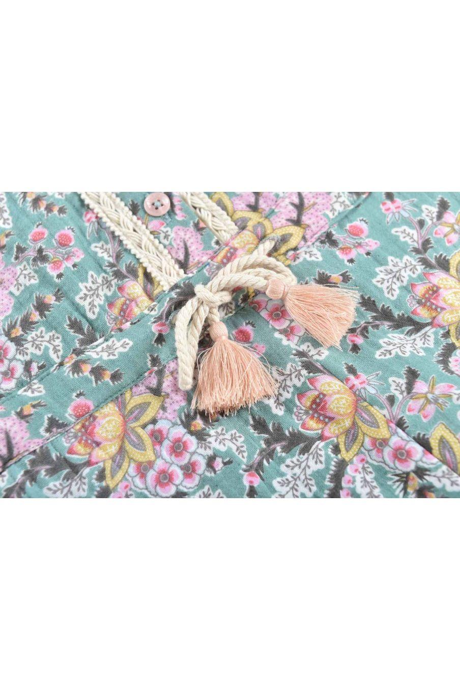 combinaison fille jenna blue french flowers - louise misha